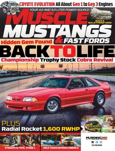 Muscle Mustang & Fast Ford Magazine Subscription