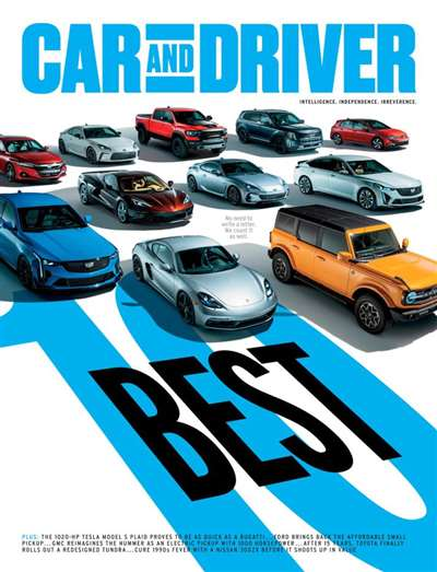 Car & Driver Magazine Subscription Canada