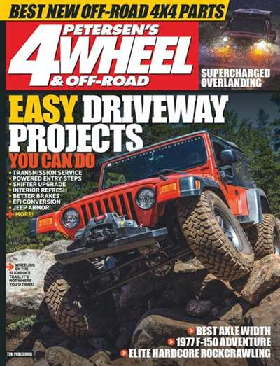 4Wheel & Off-Road Magazine Subscription Canada