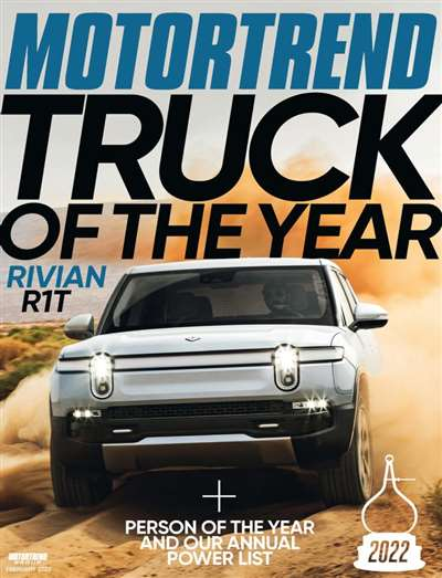 Motor Trend Magazine Subscription Canada