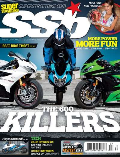 Super Streetbike Magazine Subscription