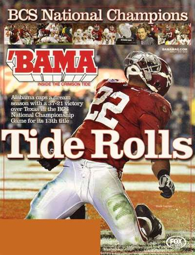 Bama Magazine Subscription