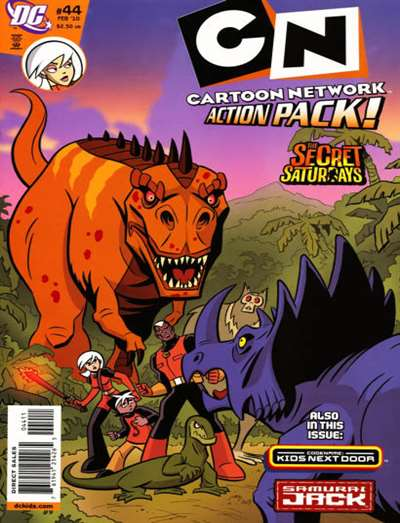 Cartoon Network Action Pack Magazine Subscription
