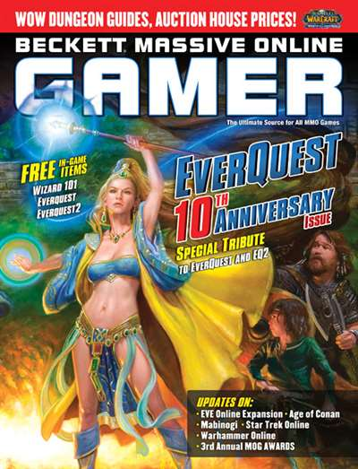 Beckett Massive Online Gamer Magazine Subscription Canada
