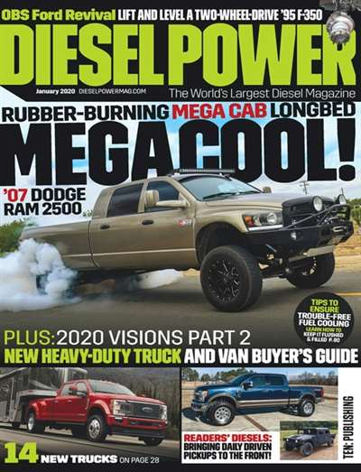 Diesel Power Magazine Subscription Canada