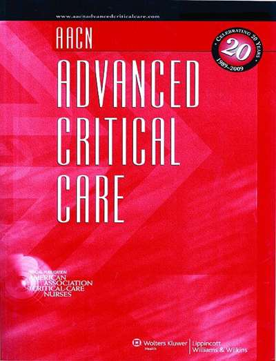 Aacn Advanced Critical Care Magazine Subscription Canada
