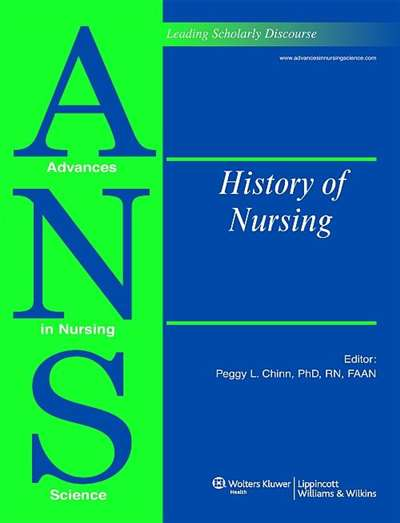Advances In Nursing Science Magazine Subscription
