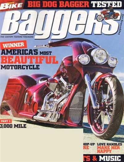 Hot Bike Baggers Magazine Subscription Canada