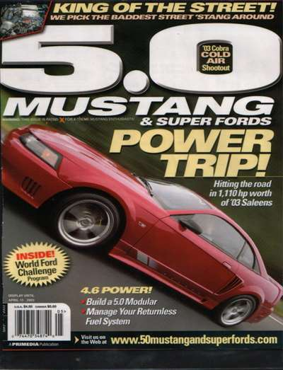 5.0 Mustang Magazine Subscription Canada