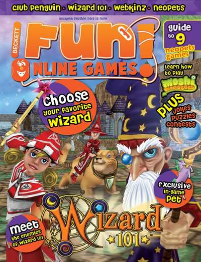 Fun! Online Games Magazine Subscription