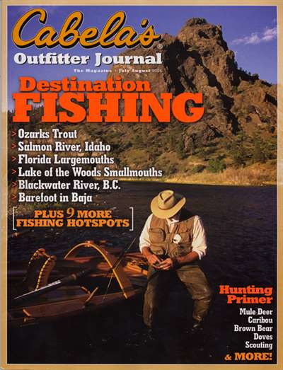 Cabela's Outfitter Journal Magazine Subscription