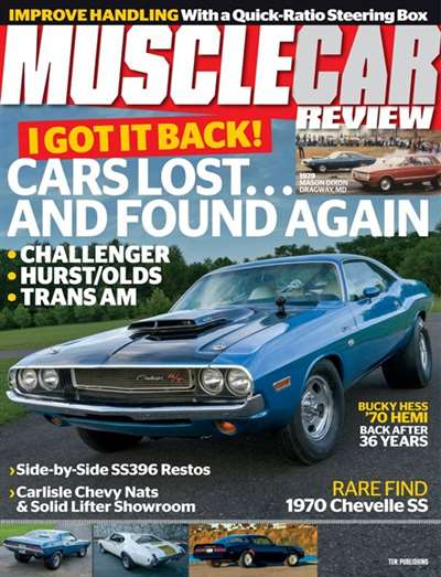 Muscle Car Review Magazine Subscription Canada