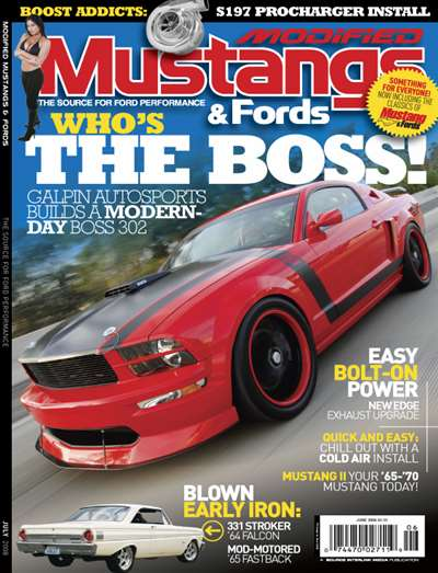 Modified Mustang & Fords Magazine Subscription Canada
