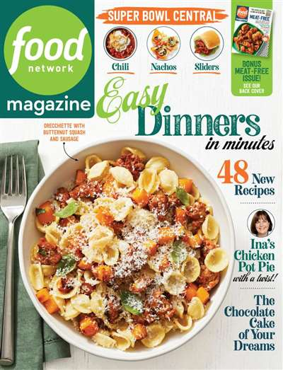 Food Network Magazine Subscription Ireland