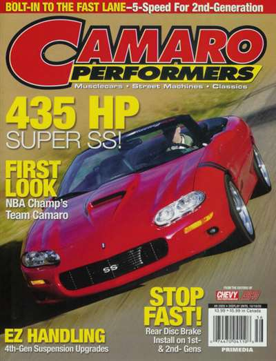 Camaro Performers Magazine Subscription