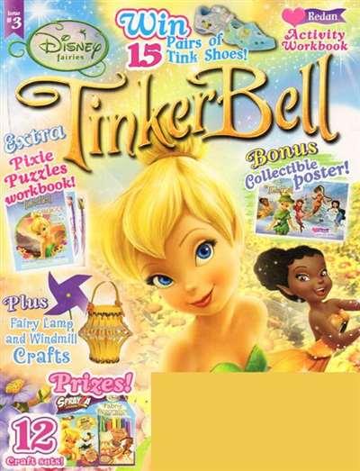 Disney Tinker Bell Magazine Subscription