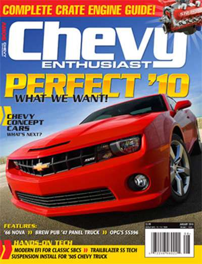 Chevy Enthusiast Magazine Subscription
