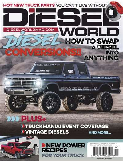 Diesel World Magazine Subscription Canada