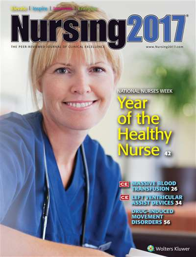 Nursing Magazine Subscription