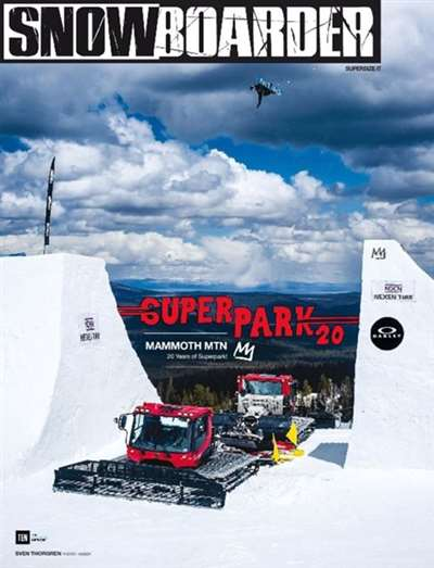 Snowboarder Magazine Subscription Canada