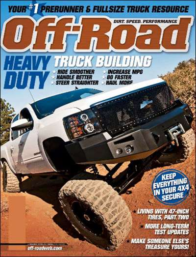 Off-Road Magazine Subscription Canada