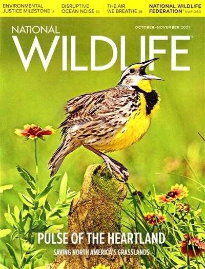 National Wildlife Magazine Subscription Canada