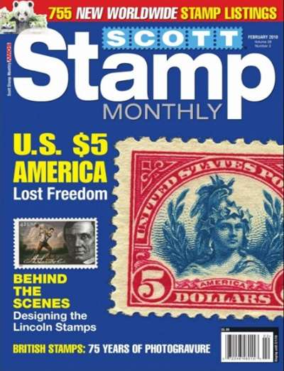 Scott Stamp Monthly Magazine Subscription