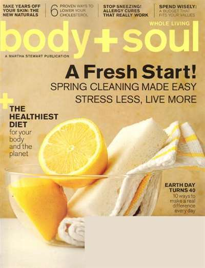 Body & Soul Magazine Subscription Canada