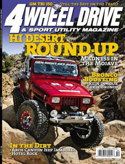 4 Wheel Drive & Sport Utility Magazine Subscription