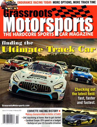 Grassroots Motorsports Magazine Subscription Canada