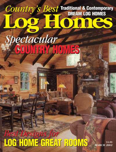 Country's Best Log Homes Magazine Subscription United States