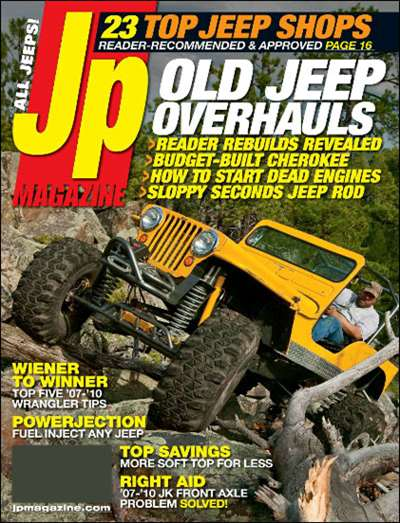 JP Total Jeep Experience Magazine Subscription