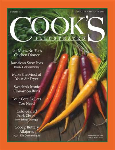 Cook's Illustrated Magazine Subscription Canada
