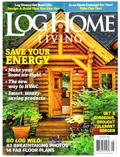 Log Home Living Magazine Subscription Canada