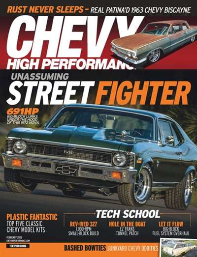 Chevy High Performance Magazine Subscription Canada