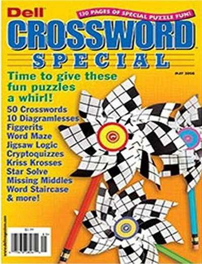 Dell Crossword Special Magazine Subscription