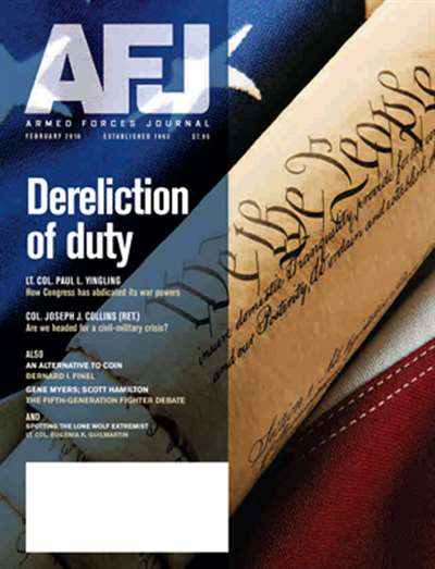 Armed Forces Journal Magazine Subscription Canada