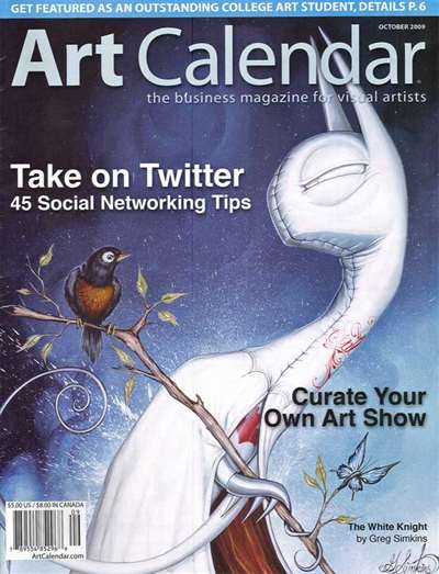 Art Calendar Magazine Subscription