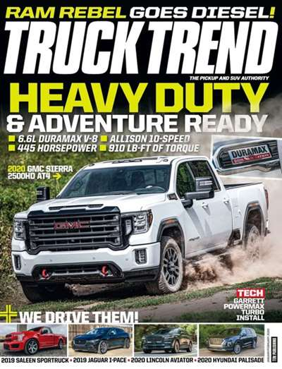 Truck Trend Magazine Subscription Canada