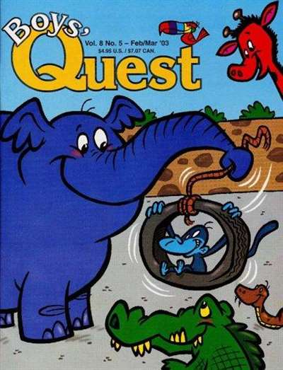 Boy's Quest Magazine Subscription Canada