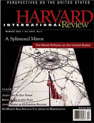 Harvard International Review Magazine Subscription Canada