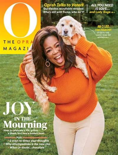 O The Oprah Magazine Subscription Ireland