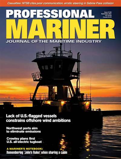 Professional Mariner Magazine Subscription Canada