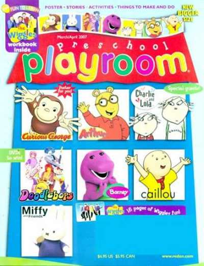 Preschool Playroom Magazine Subscription