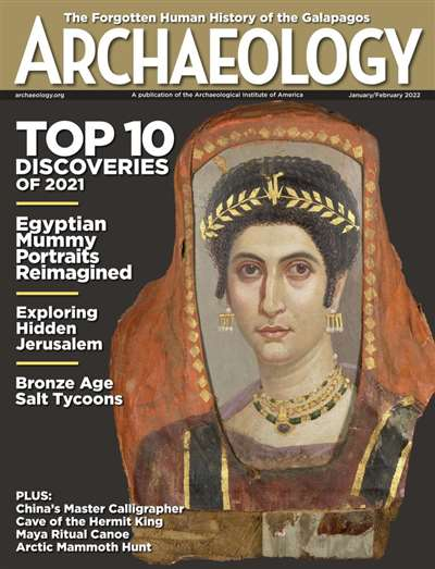 Archaeology Magazine Subscription Canada