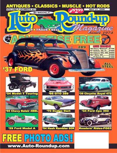 Auto Roundup Magazine Subscription Canada
