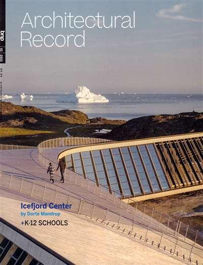 Architectural Record Magazine Subscription Canada