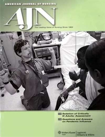 American Journal Of Nursing Magazine Subscription Canada