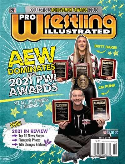 Pro Wrestling Illustrated Magazine Subscription