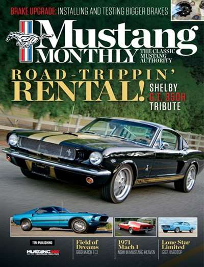Mustang Monthly Magazine Subscription Canada